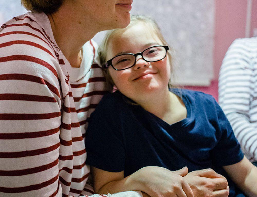 Как остаться мамой ребенку с синдромом Дауна