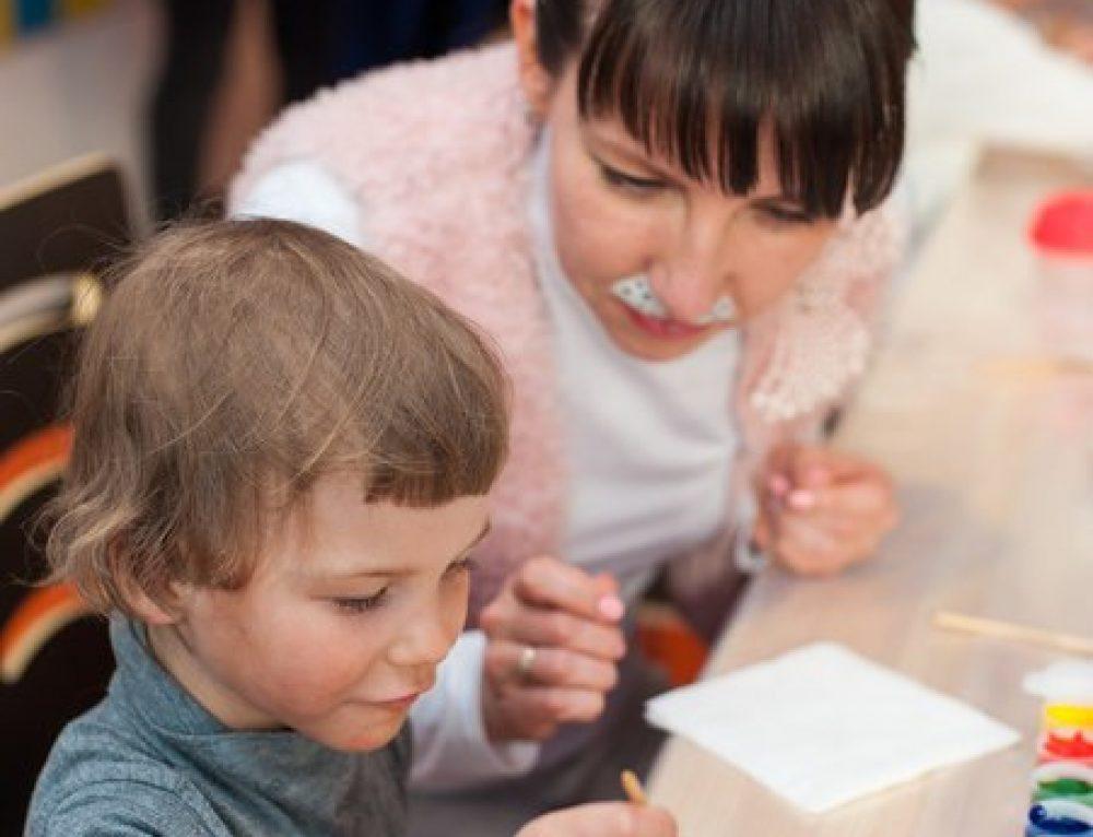Первые дети познакомились с нашим Центром семейной адаптации!