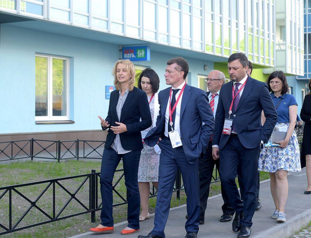 Министр труда и социальной защиты посетил наш Центр!